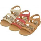 Wholesale Footwear Girl's Rhinestone Sandals