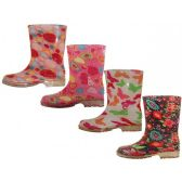 Wholesale Footwear Youth Water Proof Soft Rubbe Rain Boot