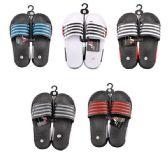 Wholesale Footwear Men's Striped Summer Slide Sandal