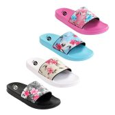 Wholesale Footwear Womens Vintage Floral Slide