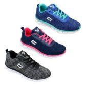 Wholesale Footwear Womens Fashion Sneaker In Navy Pink