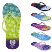 Wholesale Footwear Womens Ombre NYC Flip Flop