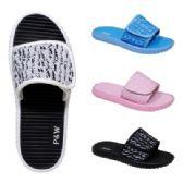 Wholesale Footwear Womens Knit Velcro Sandal