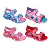 Wholesale Footwear Girls Print Sport Sandal Mix A