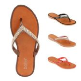 Wholesale Footwear Womens Rhinestone Flip Flop
