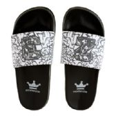 Wholesale Footwear Mens Elephant Print 23 Slide