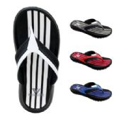 Wholesale Footwear Mens Striped Sandal
