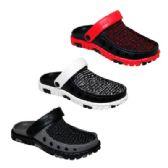 Wholesale Footwear Mens Knit Garden Clogs