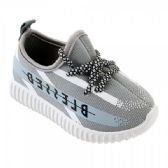 Wholesale Footwear Kids Blessed Jogger In Gray And White
