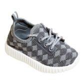 Wholesale Footwear Kids Diamond Knit Jogger In Gray