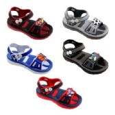 Wholesale Footwear Boys Cartoon Sandal