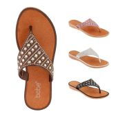 Wholesale Footwear Women Rhinestone Fashion Flip Flops