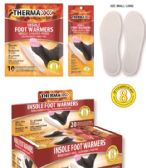 Wholesale Footwear Air Activated Foot Warmers [Size L/XL]