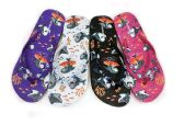 Wholesale Footwear WOMENS FLIP FLOPS WITH SHARK PRINT