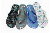 Wholesale Footwear BASIC KIDS FLIP FLOPS DINOSAUR DESIGN