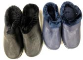 Wholesale Footwear Men's Winter Clogs With Plush Fur Warm Lining - Assorted Colors