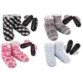Wholesale Footwear Ladies Cozy House Booties [Expressions]