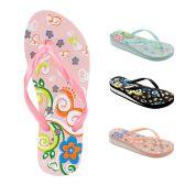 Wholesale Footwear Women's Heeled Flip Flops
