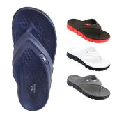 Wholesale Footwear Mens Thong Sandals Assorted Colors