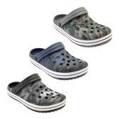 Wholesale Footwear Men's Camouflage Garden Shoes