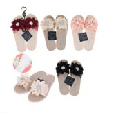 Wholesale Footwear CC Sandal Ladies Flower w/ Stone
