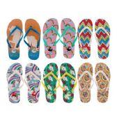 Wholesale Footwear Woman's Slim Flip Flop With Sleek Straps