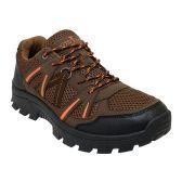 Wholesale Footwear Men's Lightweight Hiking Boots In Brown