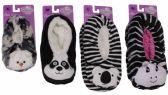 Wholesale Footwear KIDS SNUGGLE FEET SHERPA SLIPPER WITH ANIMAL FACE