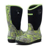 Wholesale Footwear Kids Premium High Performance Insulated Rain In Green Digi Camo