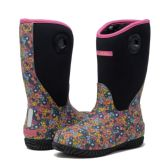Wholesale Footwear Kids Premium High Performance Insulated Rain Boot In Paisley
