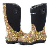 Wholesale Footwear KIDS PREMIUM HIGH PERFORMANCE INSULATED RAIN BOOT IN YELLOW ZAP