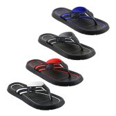 Wholesale Footwear Mens Flip Flops In Assorted Colors