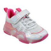 Wholesale Footwear Girls Sneakers Casual Sports Shoes In Pink