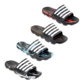Wholesale Footwear Men's Ombre Stripe Slide