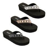 Wholesale Footwear Women's Platform Rhinestone Sandal