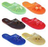 Wholesale Footwear Ladies Solid Color Sandals Sizes 6-11