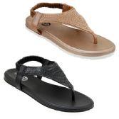 Wholesale Footwear Women's Rhinestone Shield Sandals