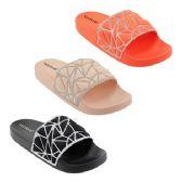 Wholesale Footwear Women's Glitter Slides