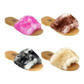 Wholesale Footwear Women's Fur Slides