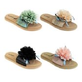 Wholesale Footwear Women's Floral Slide