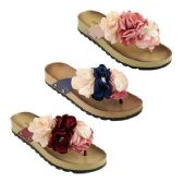 Wholesale Footwear Women's Fashion Flowers Sandals