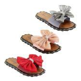 Wholesale Footwear Women's Bow Slide Sandals
