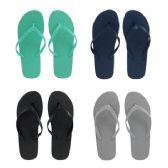 Wholesale Footwear Women's Solid Flip Flop