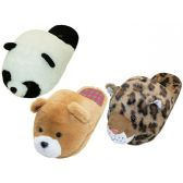 Wholesale Footwear Women's Novelties Animals Head Slippers