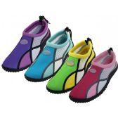 Wholesale Footwear Women's Wave Multi Color Water Shoes