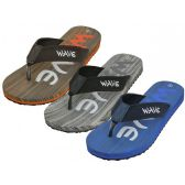 Wholesale Footwear Men's Wave Super Soft Thong Sandals