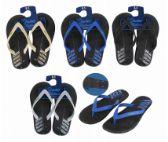 Wholesale Footwear Slippers Flip Flop Mens Bottom Print