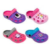 Wholesale Footwear Girls Clogs Assorted Colors And Styles