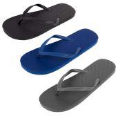 Wholesale Footwear Men's Flip Flops - Assorted Colors