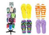 Wholesale Footwear Flip Flop Rack Assorted Styles And Sizes